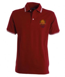 Polo Bordeaux alloro