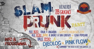 Slam drunk party a cura dell'Atletico San Lorenzo basket