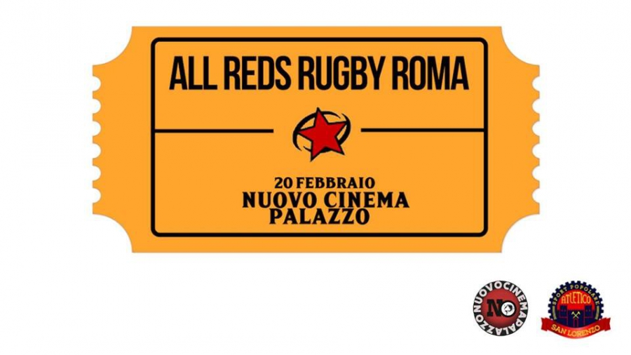 "Clamoroso al Cinema - ""AperiReds"" in collaborazione con All Reds Rugby a Roma"