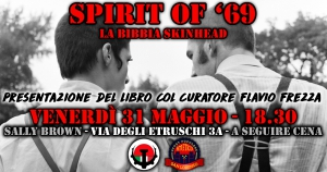 "Presentazione ""Spirit of '69"" di George Marshall"